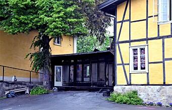 Brann i Heibergløkka barnehage i bydel Gamle Oslo. Brannvesenet på plass med sju biler