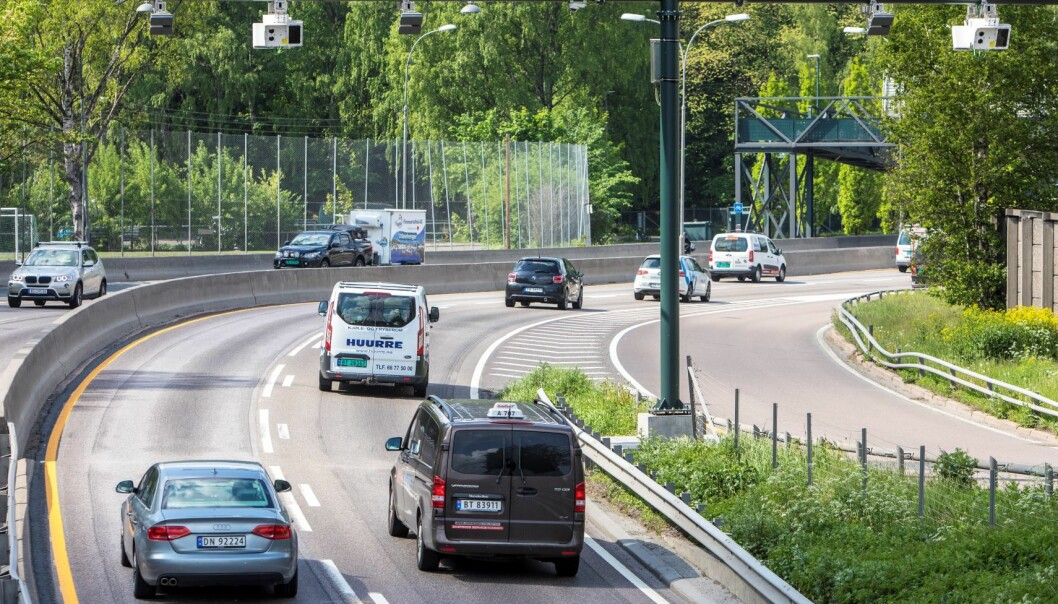 Trafikkbildet har snudd og er nå på vei opp igjen i full fart.