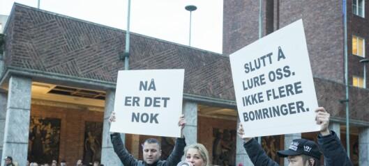 Både Frp og FNB demonstrerer mot innføringen av Oslos nye bomsystem i dag
