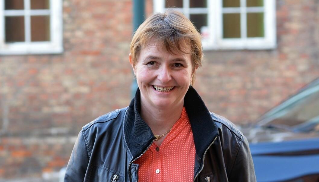 Lene Haug, i Folkeaksjonen Redd Ullevål sykehus, har tro på at hun vil nå frem politisk gjennom Senterpartiet.