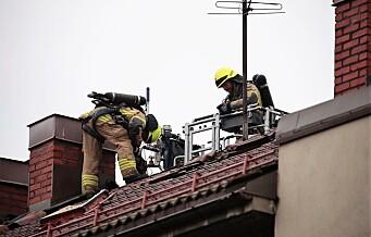 Beboere måtte evakueres etter brann på loft i bygård nederst på Torshov