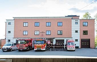 I går gikk siste utrykning fra Bryn brannstasjon. 80 års brannhistorie er ved veis ende