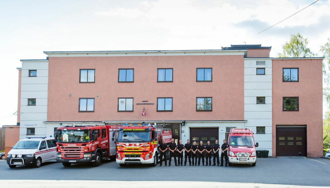 Etter 80 år er det slutt for Bryn brannstasjon Nå flytter biler og mannskap midlertidig til Eikenga på Løren.