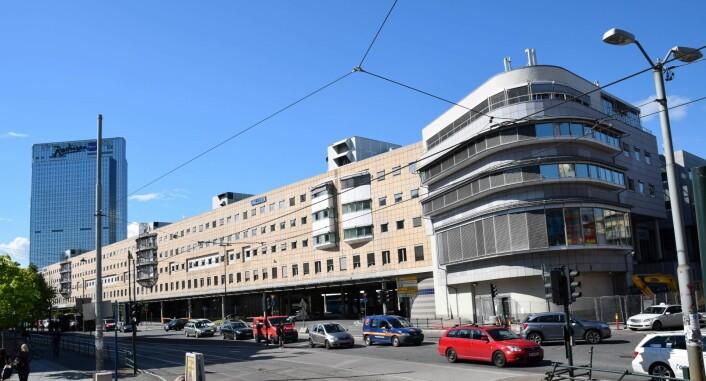 Slik ser dagens Galleri Oslo ut. For noen år siden ble det kåret til Oslos styggeste. Foto: Helge Høifødt / Wikimedia Commons