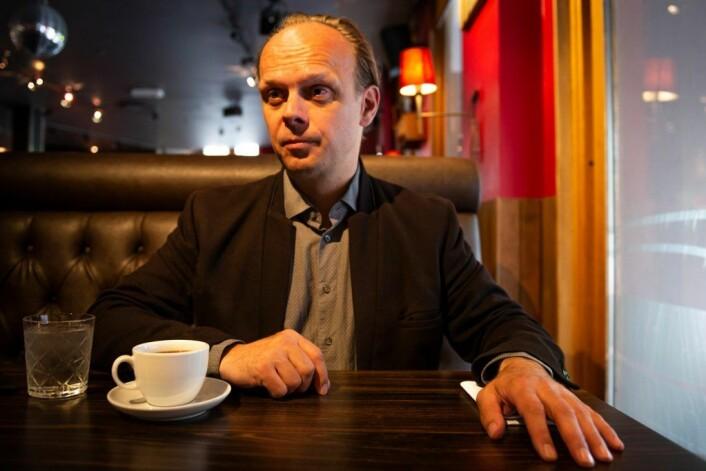 Karttegner og arkitekturhistoriker Geir Tandberg Steigan. Foto: Morten Lauveng Jørgensen