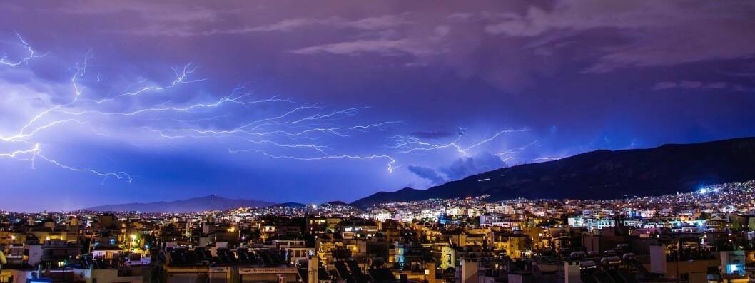 Det ventes et heftig tordenvær og kraftig regn over Oslo natt til fredag. Illustrasjonsfoto