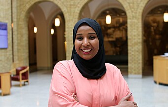 Marian Hussein (SV) blir første faste representant på Stortinget med bakgrunn som flyktning