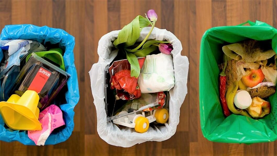 Oslofolk kan bli flinkere til å sortere plasten i blå poser. Det er bra for naturen rundt oss. Foto: Renovasjonsetaten, Oslo kommune