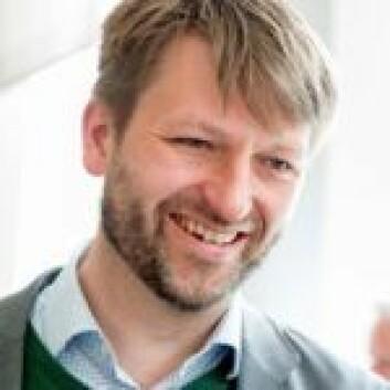 Eirik Lae Solberg vil ha en bedre løsning i det farlige krysset før skolestart. Foto: Privat