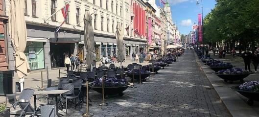 Omsetningen for handelsstanden falt i fjor, for første gang i Oslo sentrum