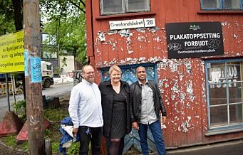 Plakathuset i Grønlandsleiret 28 skal rehabiliteres og få nytt liv og nye leietagere