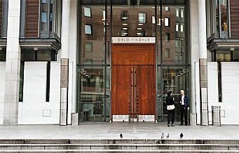 Oslo-advokat siktet for grov korrupsjon. Var medhjelper for byfogden