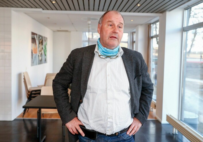 Oscar Ihlebæk (bildet) er forsvarer for den korrupsjonssiktede advokaten (arkivfoto). Foto: Terje Pedersen / NTB scanpix