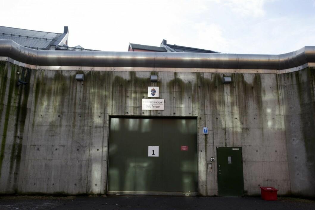 Sivilombudsmannen mener det er en klar risiko for umenneskelig behandling ved Oslo fengsel. Foto: Håkon Mosvold Larsen / NTB scanpix