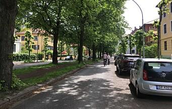 Hva skjer med sykkelfeltene i Gyldenløves gate?