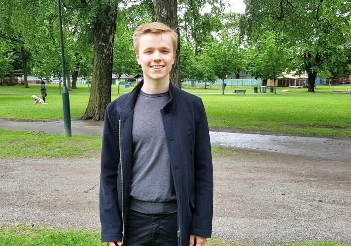 Lokalpatriot Vemund Rundberget er veldig godt fornøyd med å få PiPfest til Sofienbergparken. Foto: Christian Boger