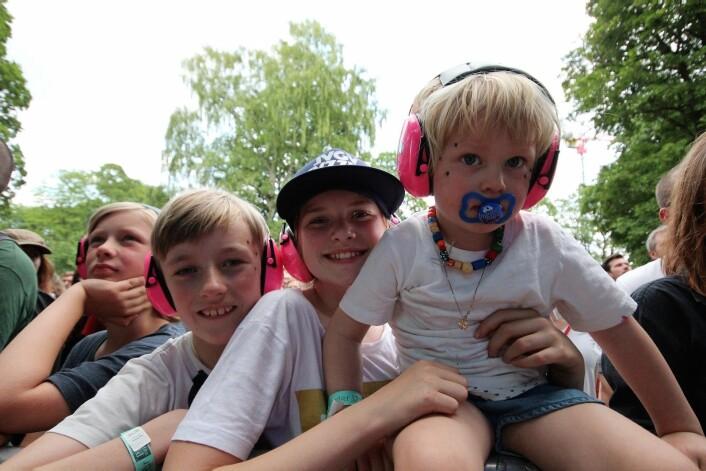 Neste generasjon Jaga Jazzist-fans var på plass. Foto: André Kjernsli