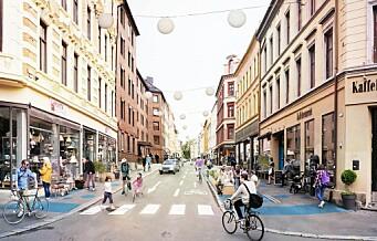 – Uklokt å fjerne p-plasser på Grünerløkka basert på at handel i Oslo sentrum øker