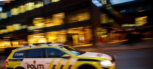Fire biler brant på Hovseter i natt