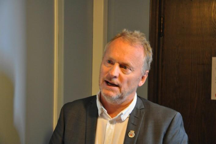 � Alle kommuner har et fokus rettet mot seg på å kunne levere en god vannforsyning etter den tragiske situasjonen på Askøy, sier byrådsleder Raymond Johansen (Ap). Foto: Arnsten Linstad