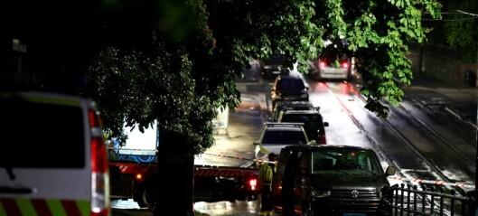 Russisk ambassadebil i dødsulykke på Skillebekk