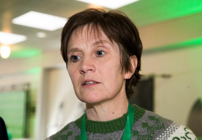 – Dette vil vi ikke akseptere, sier Sps helsepolitiske talskvinne Kjersti Toppe.Foto: Terje Pedersen / NTB scanpix