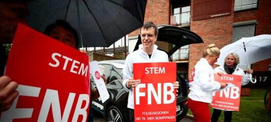 Nesten en av ti i Oslo vil stemme på bompengepartiet