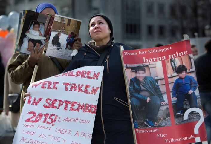 Regjeringens forslag til barnevernlov foreslår at barnevernet skal følge opp foreldre som er blitt fratatt barn. For mye forlangt? Foto: Ole Berg-Rusten / NTB Scanpix