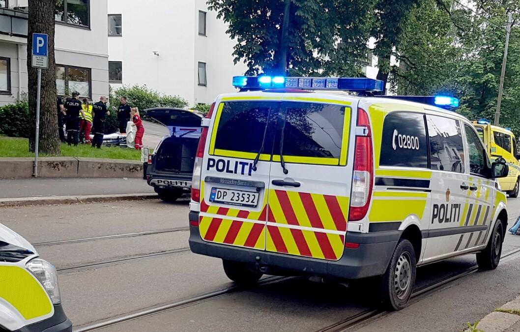 90 prosent av gjerningspersonene og fornærmede første halvår 2018 var europeiske statsborgere, ifølge rapporten fra politiet. Foto: Kristoffer Hagen / NTB scanpix