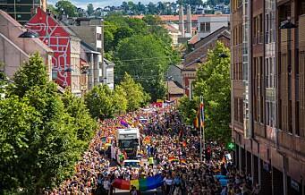 50.000 gikk i den største Oslo Pride noensinne. Titusener heiet paraden frem gjennom Oslos gater. Se fotoene