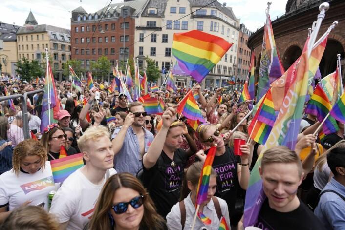 Oslo pride 2019. Foto: Fredrik Hagen / NTB scanpix