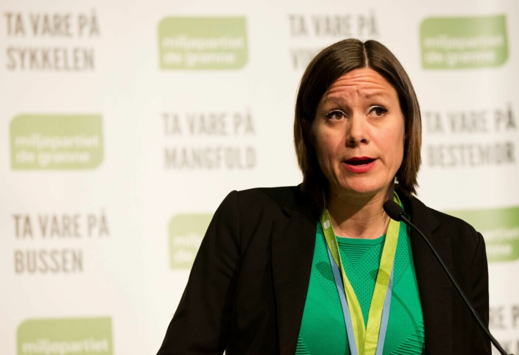 Byutviklingsbyråd Hanna E. Marcussen (MDG) i Oslo medgir at det er mye å ta tak i når det kommer til arbeidsmiljøet i Plan- og bygningsetaten i hovedstaden. Foto: Geir Olsen / NTB scanpix