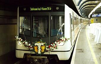 – Oslo Høyre går til valg på å bygge ut kollektivtrafikken. Å påstå noe annet er usaklig skremselspropaganda.