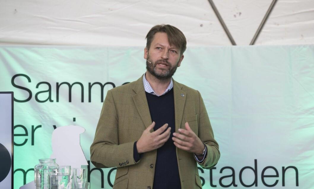 �  Jeg er sjokkert dersom det rødgrønne byrådet nå forskjellsbehandler innbyggerne i Oslo. Loven må være lik for alle. Derfor må alle som urettmessig ble avkrevet eiendomsskatt for 2016 få tilbakebetalt, sier Høyres Eirik Lae Solberg. Foto: Terje Bendiksby / NTB scanpix