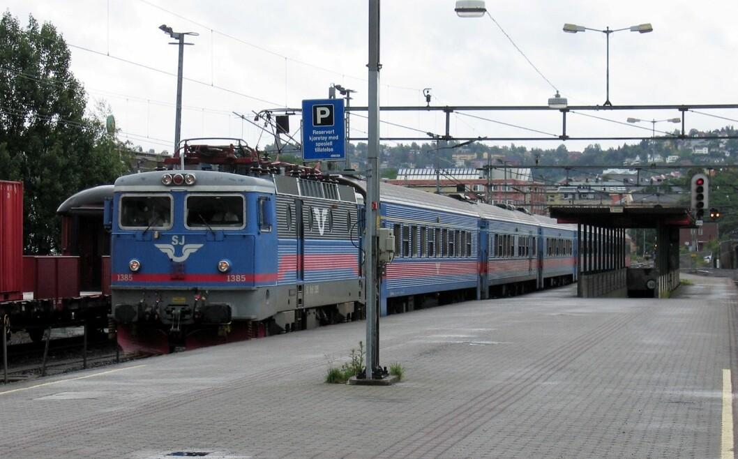 Siden 1990 har tilbudet for togreisende fra Oslo til utlandet nesten blitt halvert. Foto: Vidar Knai / NTB scanpix