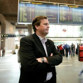 Pressesjef i Vy, Åge-Christoffer Lundeby. Foto: Erlend Aas / NTB scanpix