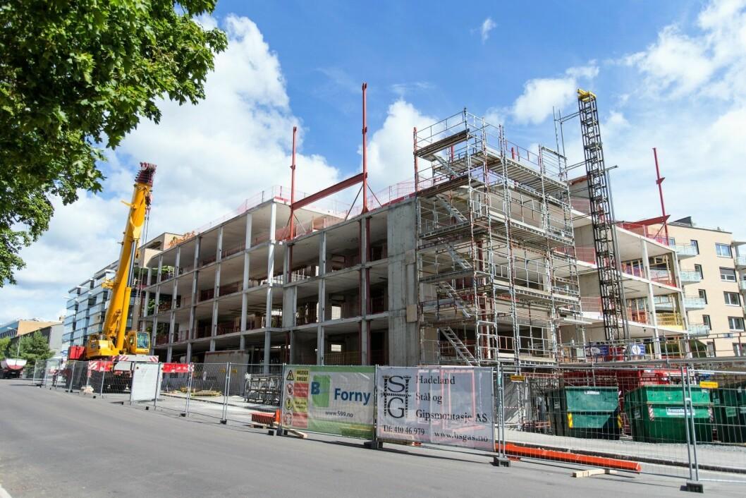 """Høyre og Venstre mener byrådets forslag om å føre det som blir omtalt som en mer """"sosial boligpolitikk"""" er et gufs fra fortiden. Illustrasjonsfoto: Audun Braastad / NTB scanpix"""