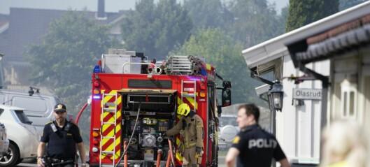 To større garasjebranner på under et halvt døgn i Oslo. Kraftig røykutvikling begge steder