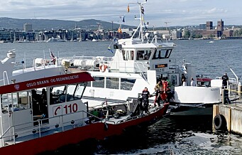 Flere personer skadd da ferge kolliderte med brygga på Hovedøya