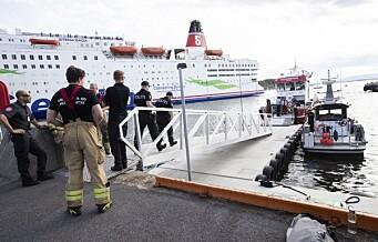 En skadd fraktet til Ullevål sykehus etter fergeulykken ved Hovedøya. Fem andre kjørt til legevakten