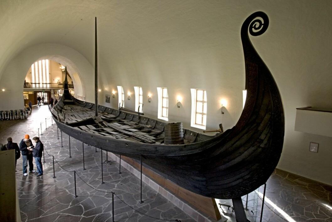� Vikingskipene representerer nasjonale ikoner. Det vil bli en katastrofe hvis vi mister dem. Det er det vi frykter nå, sier seksjonssjef Isa Trøim hos Riksantikvaren. Foto: Bjørn Sigurdsøn / Scanpix