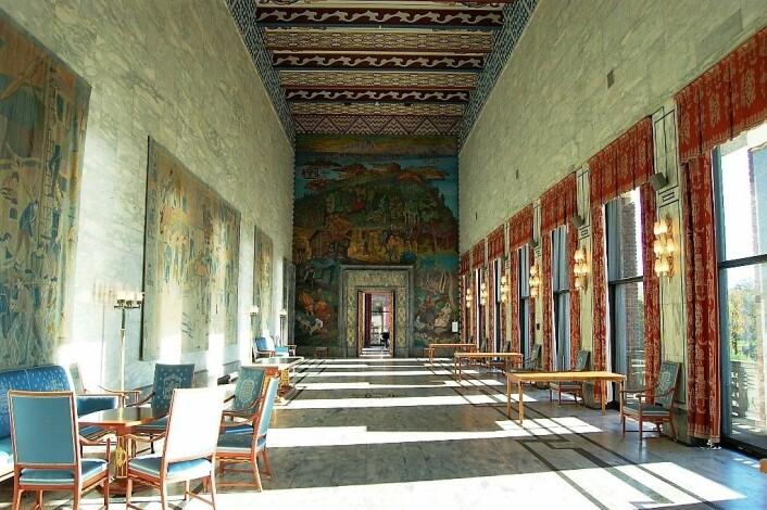 Kunstverkene som pryder Oslo rådhus er bare noen av verkene du kan se på kommunens nye nettside. Foto: Matthew Reames / flickr.com
