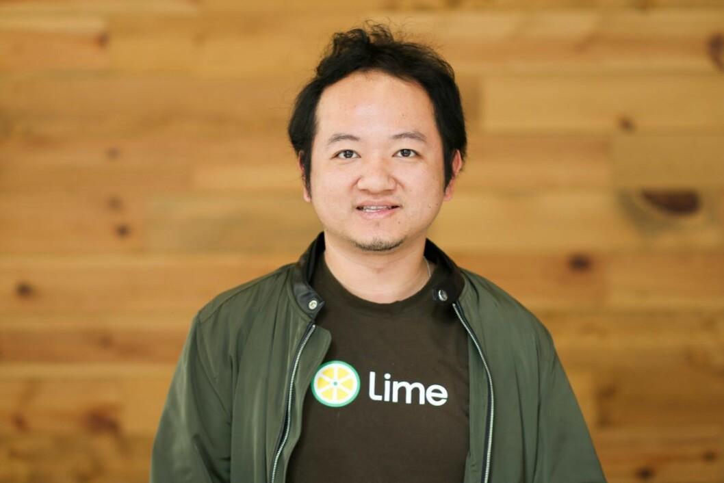 Medgründer i Lime, Toby Sun. Foto: Lime