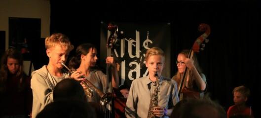 Barn nå til dags! På denne festivalen spiller de jazz på høyt nivå rundt om i Oslo