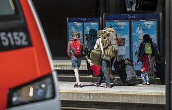 Mer enn halvparten av Oslos befolkning ønsker høyhastighetstog mellom norske storbyer