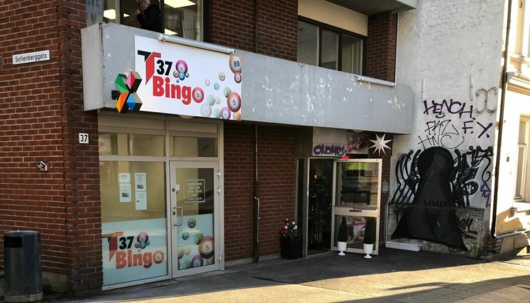 T37 bingo i Trondheimsveien 37. Foto: Hans Bastian Borg
