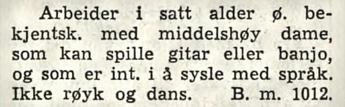 Arbeiderbladet, 1949