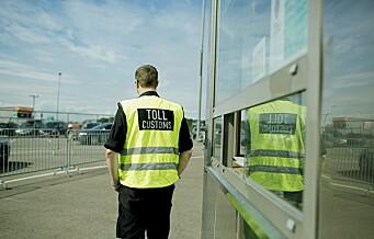 Tyske fiskesmuglere tatt i stor tolleraksjon på Hjortneskaia ved Kiel-ferja