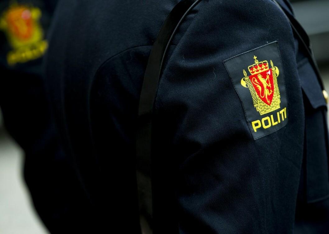 En politimann i Oslo. Foto: Vegard Wivestad Grøtt / NTB scanpix