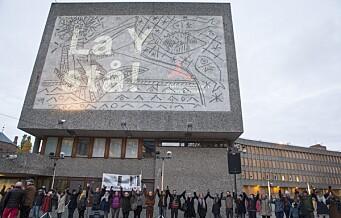 Y-blokka i regjeringskvartalet rives i oktober